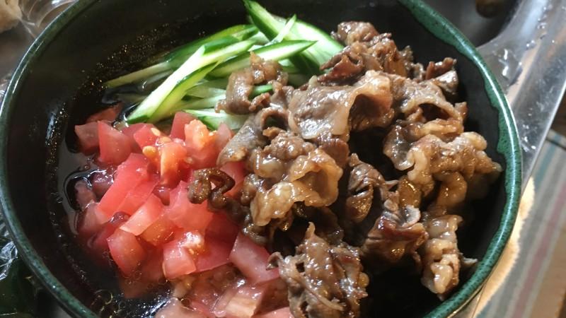 玄米ごはんを夏でもおいしく食べるレシピ 冷製玄米雑炊
