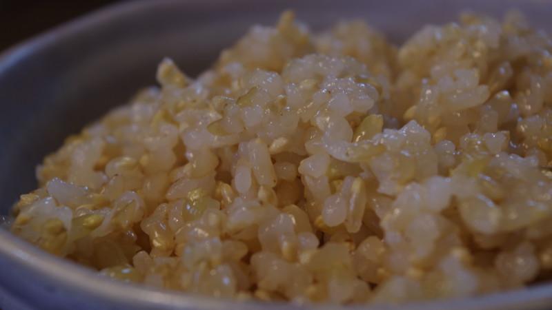 炊飯器で玄米を美味しく炊いちゃったりする 浸水の巻
