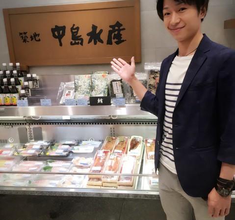 大丸東京「推し弁グランプリ」その4~デカネタ丼(中島水産)~