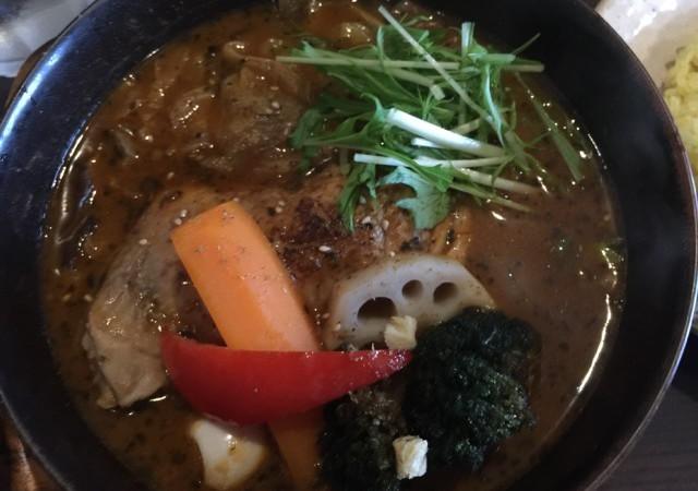 札幌で大人気!スープカレーの【GARAKU】