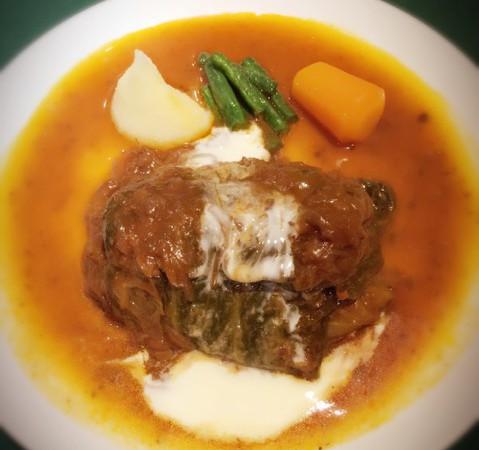 浅草で20食限定【キャベツロール】ロシア料理「ラルース」♫