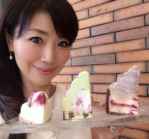 表参道・グラッシェル2016年クリスマス商品のご紹介!アイスクリームでつくったデコレーションケーキ 『アントルメ グラッセ』