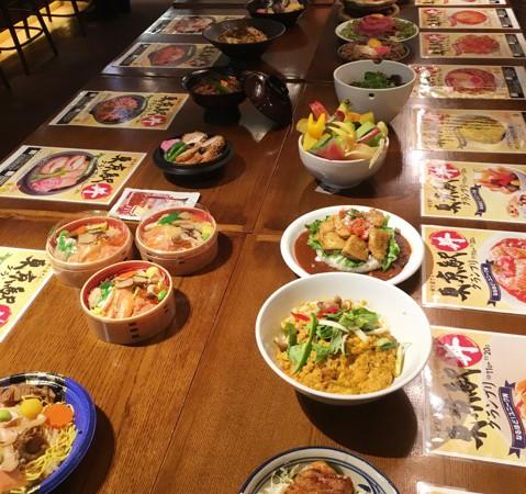 東京駅「丼」グランプリ【秋を愛でる東京駅丼グランプリ】開催!2016年10月11日から