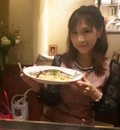 銀座【アナスティア】サンマのペペロンチーノ!秋の味覚丸ごと♫