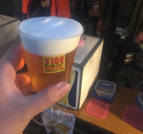 100円ビールフェスin川崎(川崎競馬場)!!