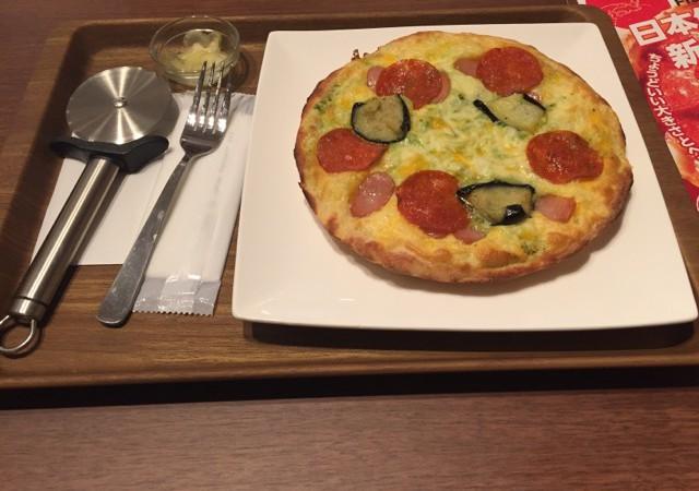 上野OIOI(マルイ) フードセレクト 新食感のピザを食べる!その名はPIZZAPPY(ピザッピー)!!