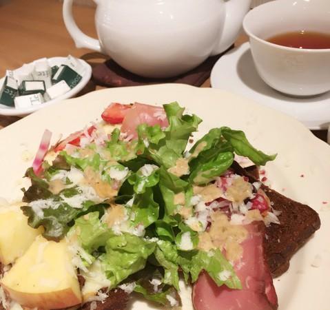 【AfternoonTeaアフタヌーンティー】クリスマス限定ランチ♪今年は赤い林檎が主役!!