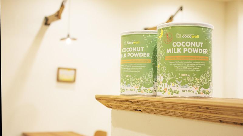 【新商品】「ココナッツミルクパウダー」発売記念!ココウェルカフェで期間限定イベント開催