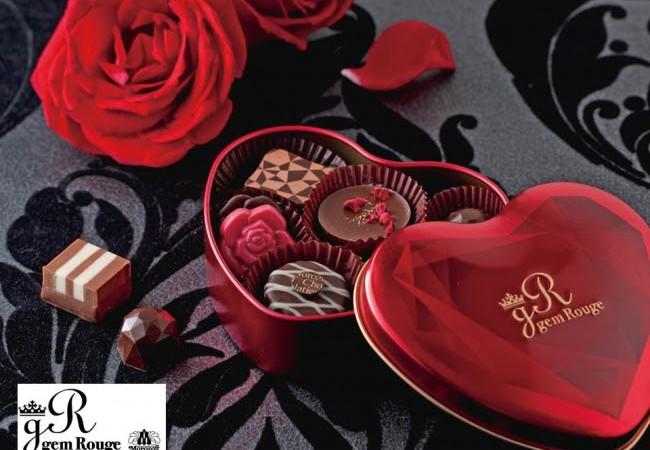 【バレンタイン特集】大人の女性が秘める「情熱と知性」を「赤と黒」で表現した「ジェムルージュ」