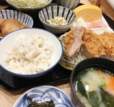 とんかつランチ「京都三条かつくら」京都生まれのとんかつ♪アトレ上野店