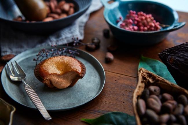 【バレンタイン特集】京都発のチョコレートブランド「Dari K」を使用した「BAKE CHEESE TART」の『焼きたてチョコチーズタルト』