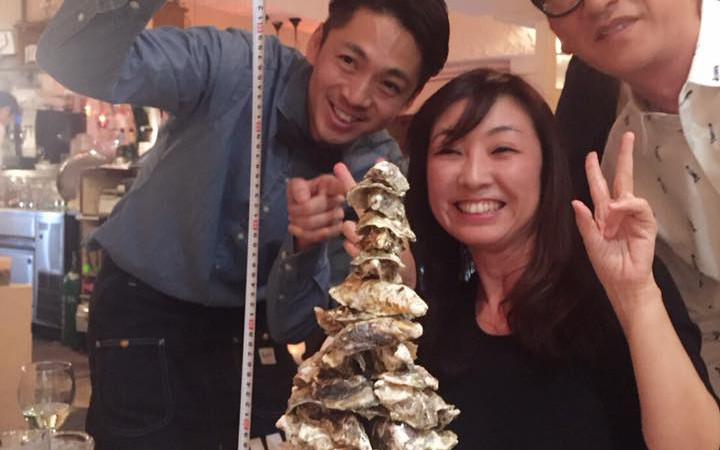 オイスターバーで食のイベント「オイスタータワーグランプリ」開催(二子玉川)