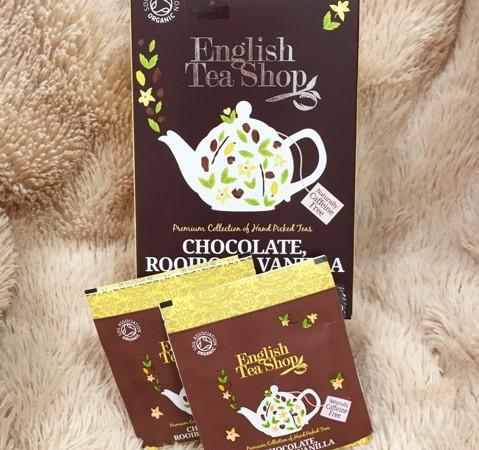 English Tea Shopオーガニックティー「チョコレートルイボス&バニラ」有機ルイボスティー♪