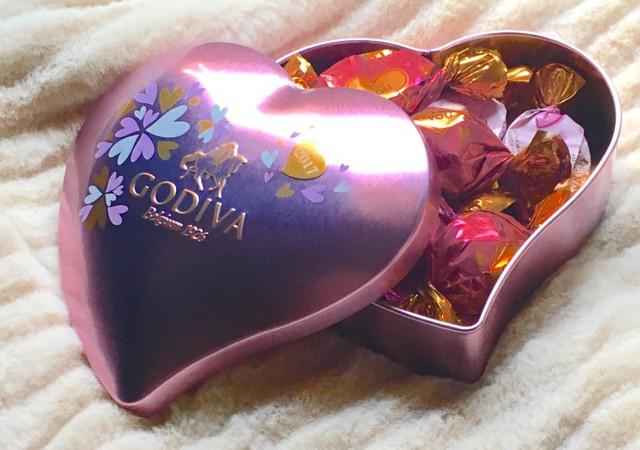 【バレンタイン特集】GODIVAのバレンタイン限定チョコレート「ピンクのハート缶」