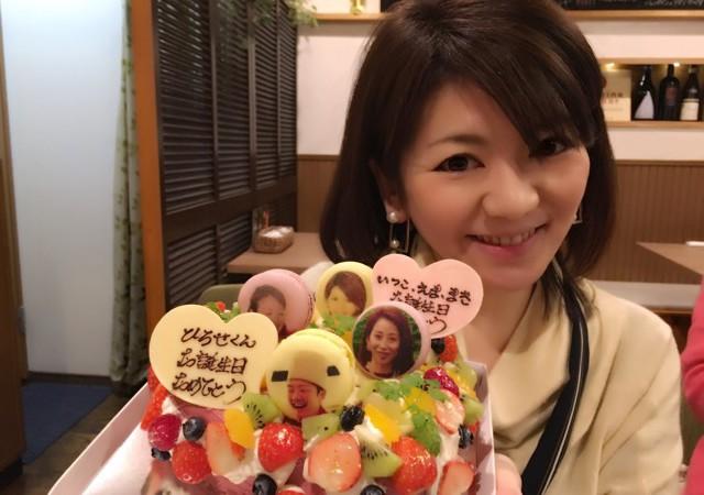 【オリジナルケーキ】TV取材も多い有名店!帝塚山POIREのバースデーケーキ