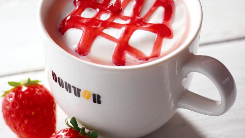 【ドトールコーヒー】春をイメージしたホワイトショコラ・ストロベリーが販売!