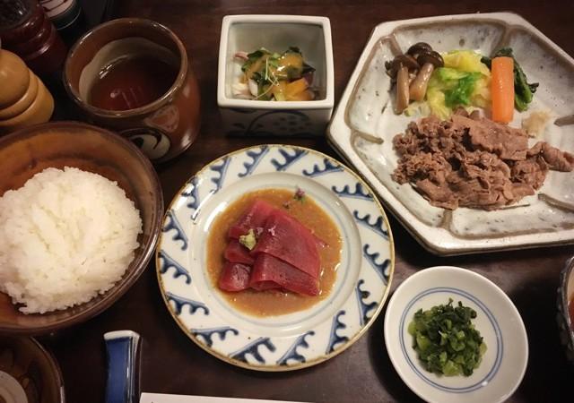 【日本橋】しゃぶしゃぶ、すき焼き、割烹・小料理「ざくろ」でランチ♪