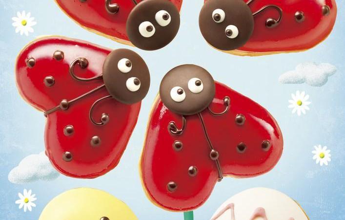 【新商品】幸運を呼ぶ「テントウムシ」がクリスピー・クリーム・ドーナツから登場!