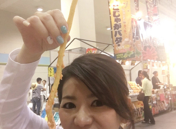 食博2017 6号館で食博限定プレミアムもちもちポテトと電球キャット!!