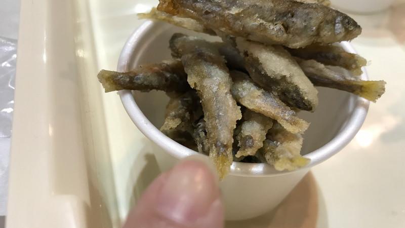 食博2017 日本の味くらべ館「滋賀県」 鮎のてんぷらとしじみ汁