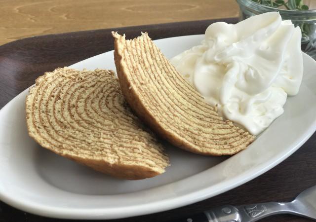 ビストロタマで食べられるタマクーヘンのグルテンフリー工場(二子玉川)