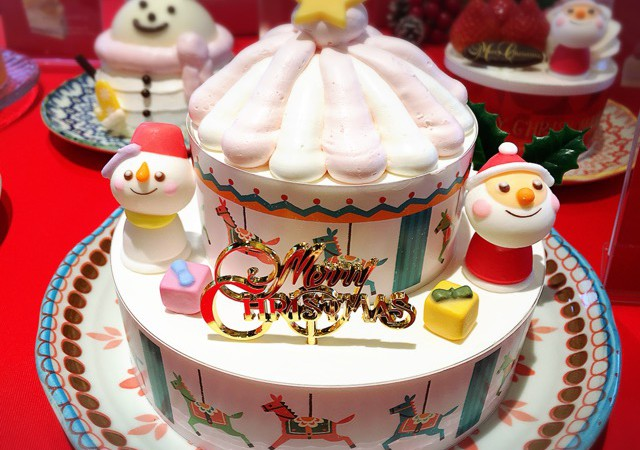 銀座コージーコーナー 2017新作「クリスマスケーキ」試食会