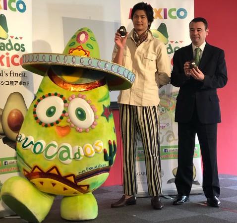 メキシコ産アボカド新TV CM発表会