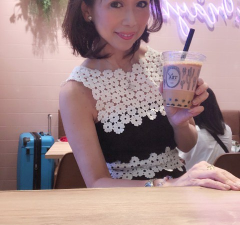 ジアレイ ルージャオーシャンのタピオカミルクティー 新宿ルミネ店