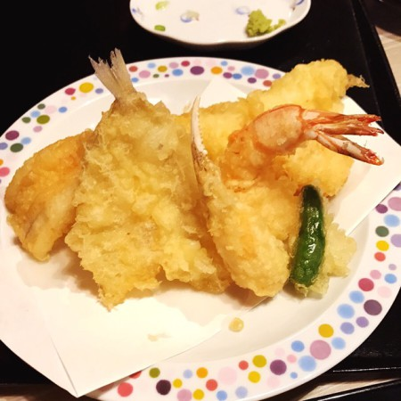 練馬野中の海鮮天ぷら