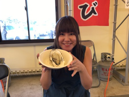 千葉のかき小屋木更津牡蠣
