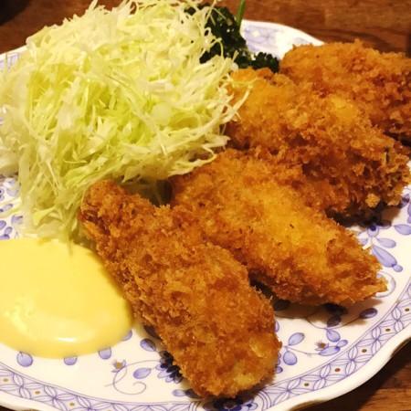 浅草とんかつゆたか牡蠣フライ定食、カキフライ定食